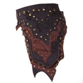 """Belt high clothing \""""anunaki\"""", mix brown"""