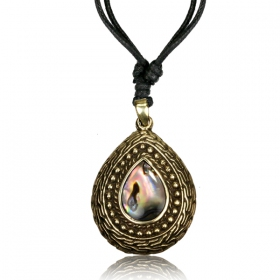 """Bhaskar Stone\"" necklace"