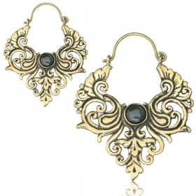 """Bheru\"" earrings"