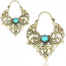 "\""Bhushan\"" earrings"