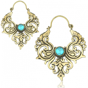 """Bhushan\"" earrings"