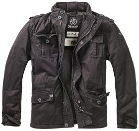 """Britannia\"" surplus jacket, Black"