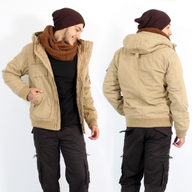 """Bronx\"" surplus jacket, Camel"