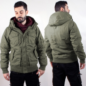 "\\\""Bronx\\\"" surplus jacket, Khaki"