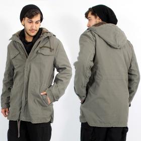 "\""BW Parka\"" coat, Khaki"