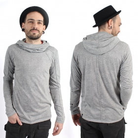 "\""Camoline\\\"" thin sweatshirt, Grey"