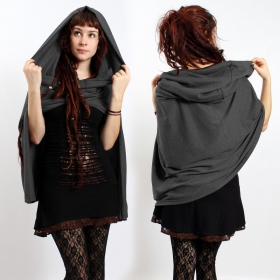 Cape hood, dark grey