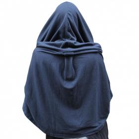 Cape hood, night blue
