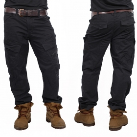 """Cargo Adven\"" regular combat trousers, Black"