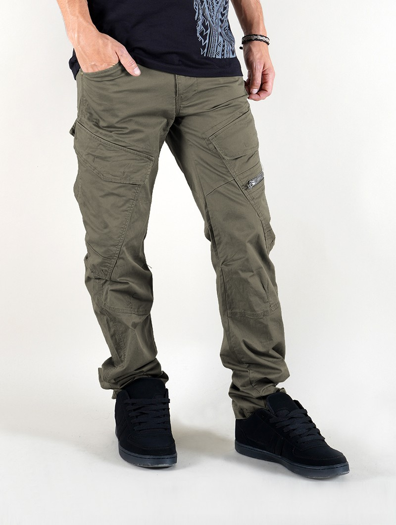 """Cargo Adven\"" regular combat trousers, Khaki green"