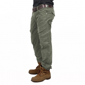 "\""Cargo Adven\"" regular combat trousers, Khaki"