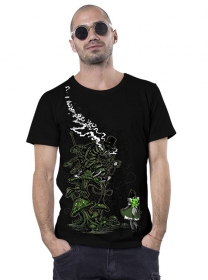 """Caterpillar\"" t-shirt, Black"