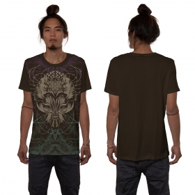 """Catster\"" t-shirt, Brown"