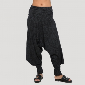 """Celt Rmx\"" Harem pants, Black"
