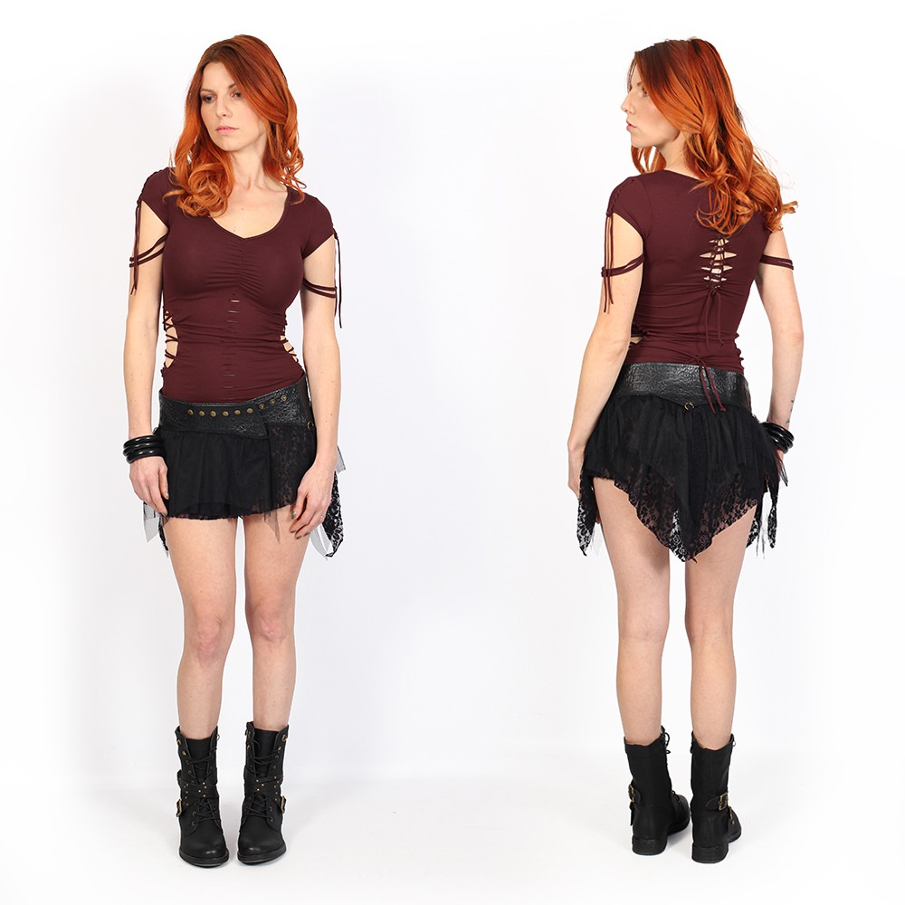 "\""Chiba Tutu\"" skirt, Black"