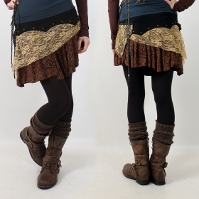 ""\""""Chimey"""" skirt, Black brown and beige""280|280|?|en|2|0903f7c7c50c1a2d67eb0a4ffc335314|False|UNLIKELY|0.3124314844608307
