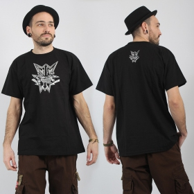 """Chrome Headface\"" Heretik T-shirt, Black"