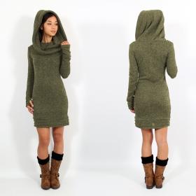 "\""Chryzalide\"" pullover dress, Khaki"