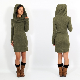 """Chryzalide\"" pullover dress, Khaki"