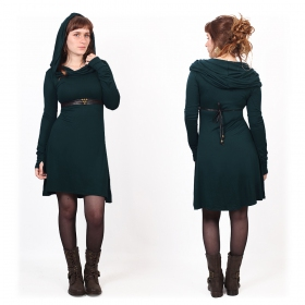 """Chryzz\"" dress, Dark teal"