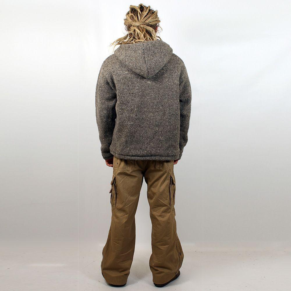 "Coat \\\""omkar wool and fleece\\\"", kaki size xl"