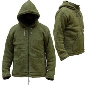 "Coat \""omkar wool and fleece\\\"", kaki size xl"