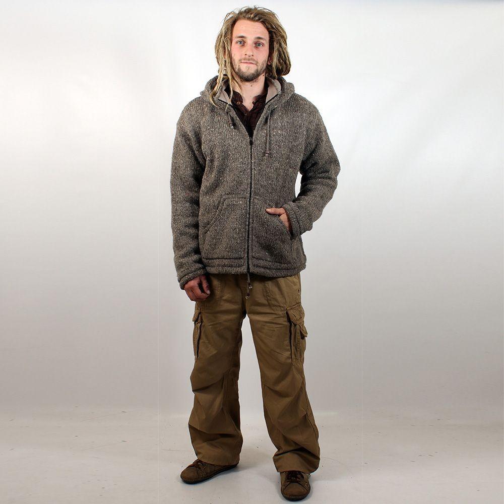 "Coat \\\""omkar wool and fleece\\\"", red"