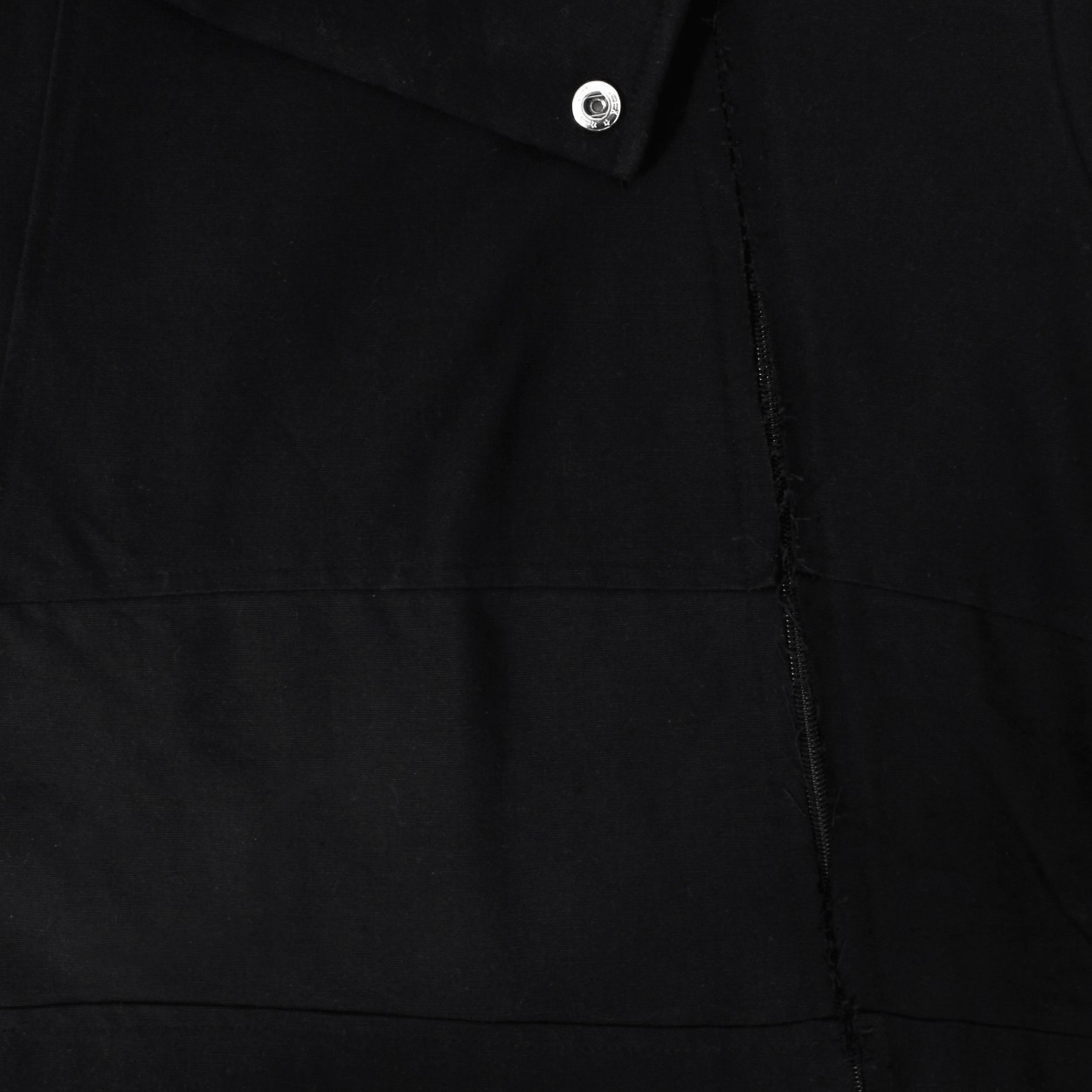 "Coat ""Thanyaka\"", Plain black"