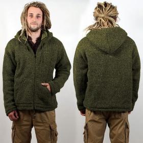 """Coat Macha \\\""""Omkar Wool and Fleece\\\"""", Kaki"""