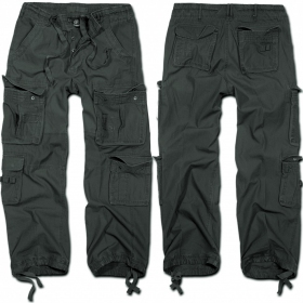 """Combat trousers surplus \\\""""cargo pure\\\"""",  anthracite"""
