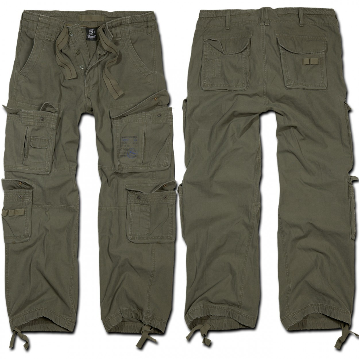 "Combat trousers surplus \""cargo pure\\\"" kaki"