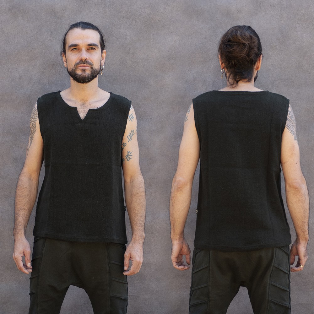"""Core Ninja Twill\"" tank top, Grey"