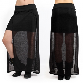 """Creature\"" skirt, Black"