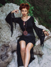 "\""Creature\"" skirt, Black"