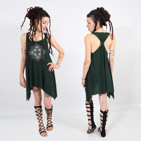 """Cube Spiral\"" knotted tunic"