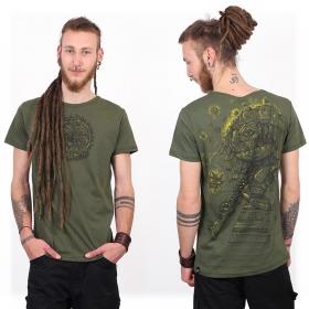 "\""Cubina\"" t-shirt, Mottled khaki"