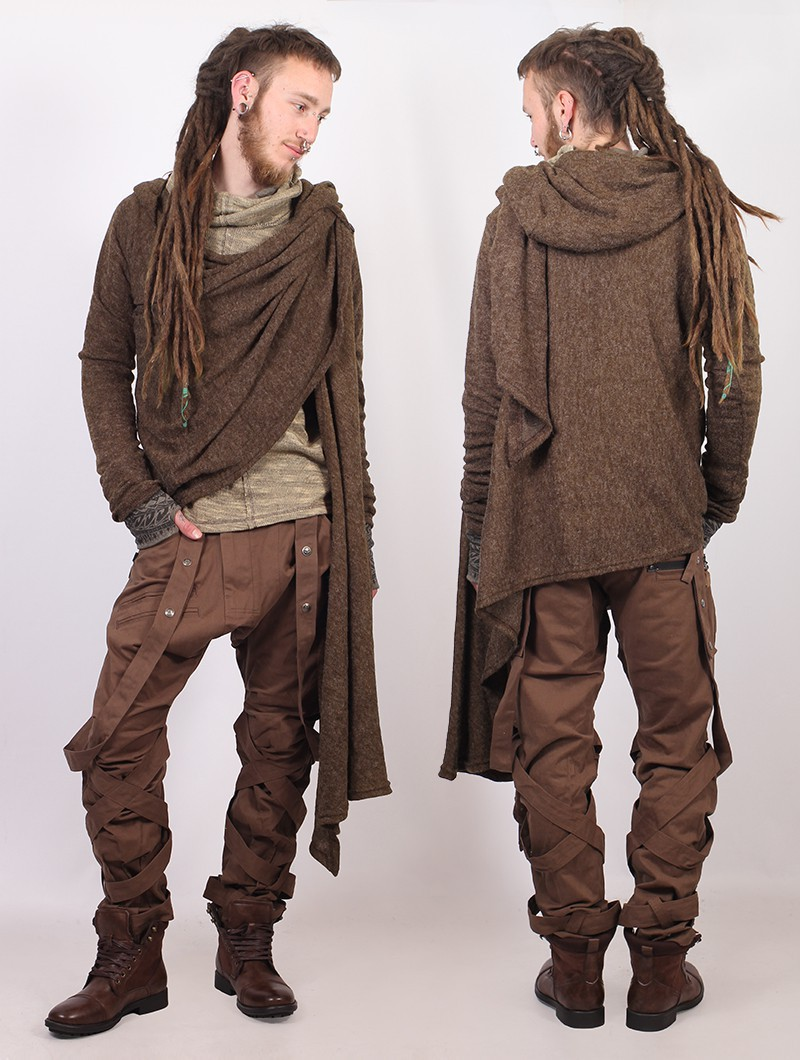"""Danaeriz\"" shawl, Brown"