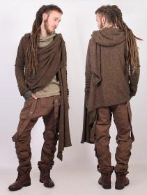"\""Danaeriz\"" shawl, Brown"
