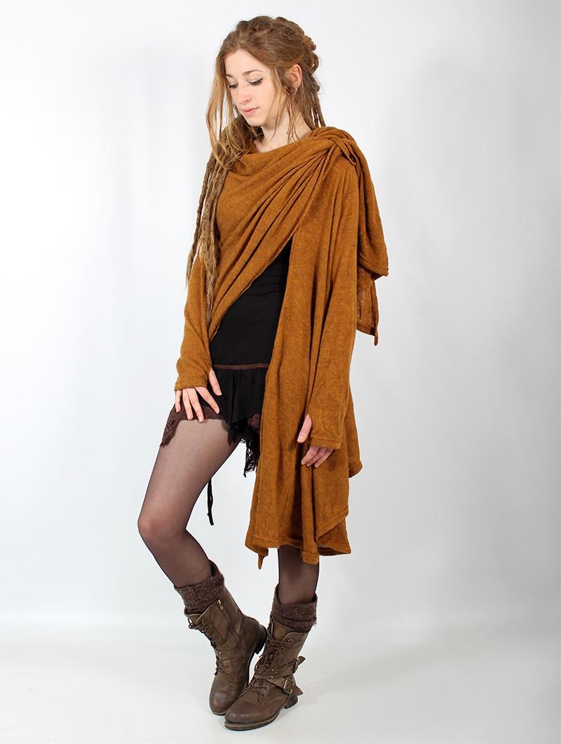 "\""Danaeriz\"" shawl, Rusty"