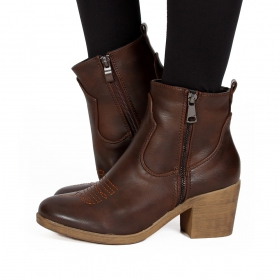 "\""Dasmaya\"" boots, Brown"