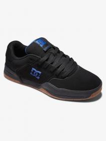 DC Shoes Central, Black nubuck leather