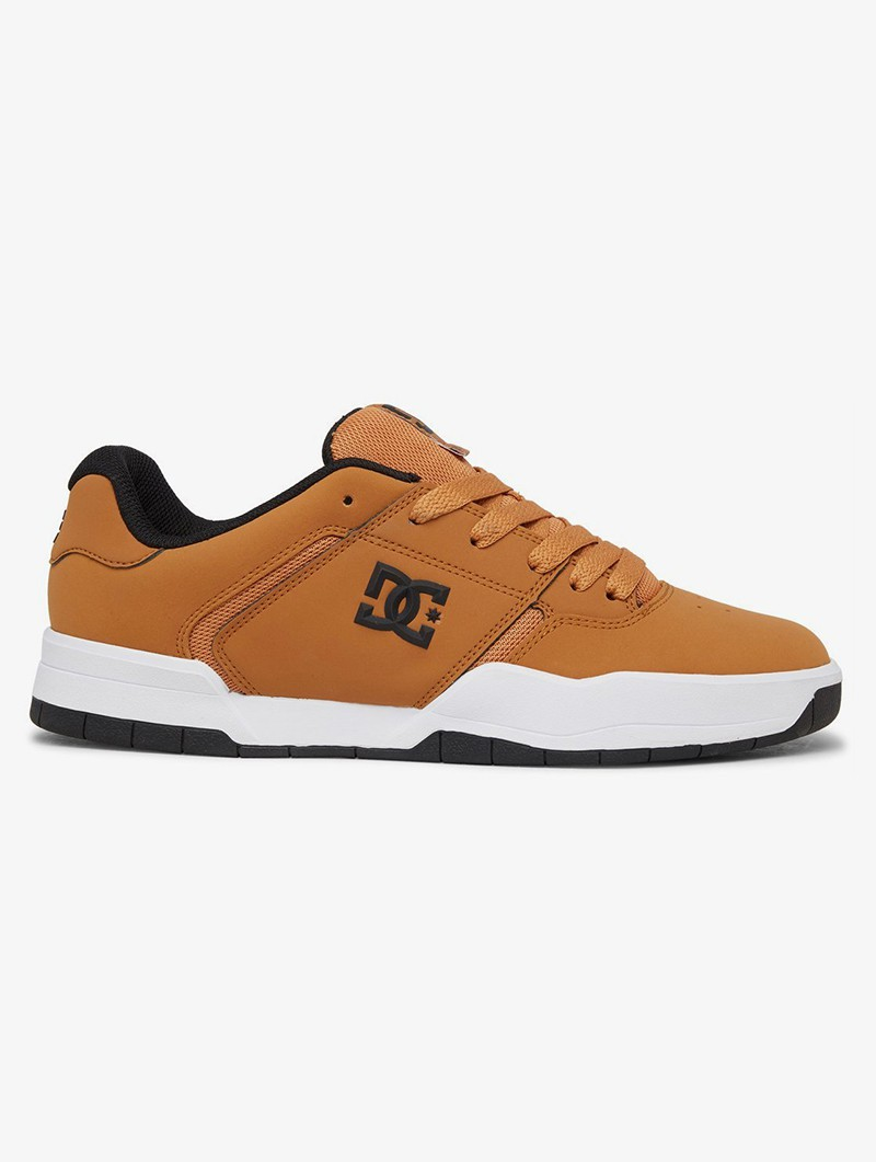 DC Shoes Central, Camel nubuck leather