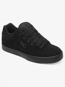 DC Shoes Pure , Black leather