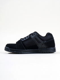 DC Shoes Stag , Black leather