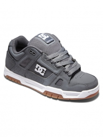 DC Shoes Stag , Grey and black leather