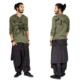 """Dervish\"" harem pants, Black"