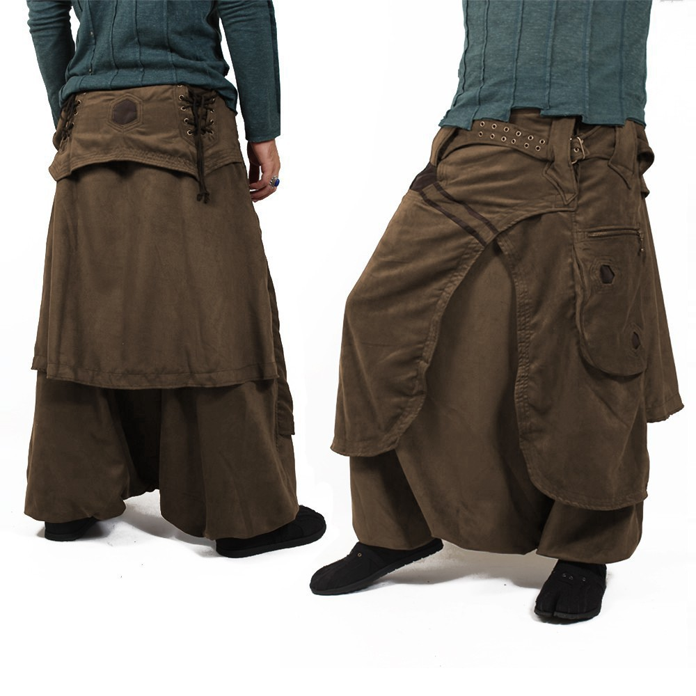 """Dervish\"" sarouel, High clothing, Brown"