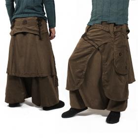 "\""Dervish\"" sarouel, High clothing, Brown"