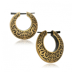 """Dhahabi\"" earrings"