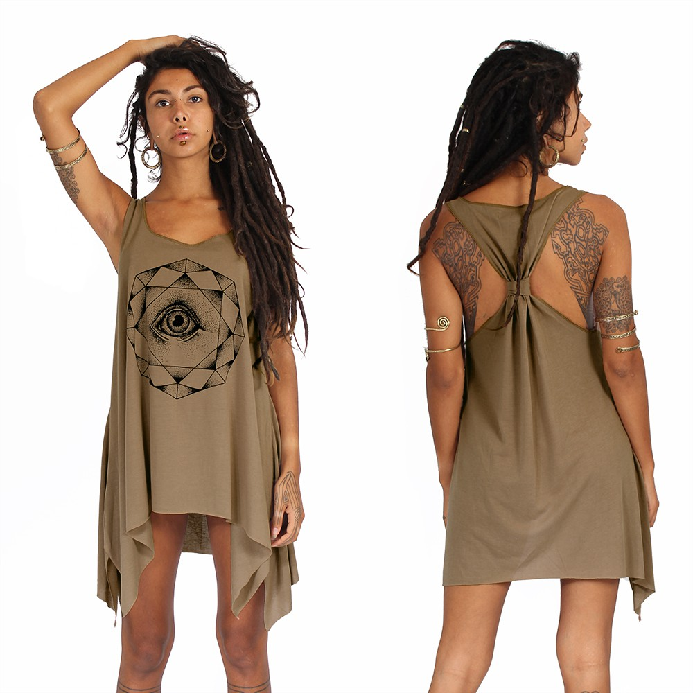 ""\""""Dharana"""" knotted tunic, Brown and black""1000|1000|?|en|2|fcb95e4abce7f387e6085d0a7789b57e|False|UNLIKELY|0.3032848834991455